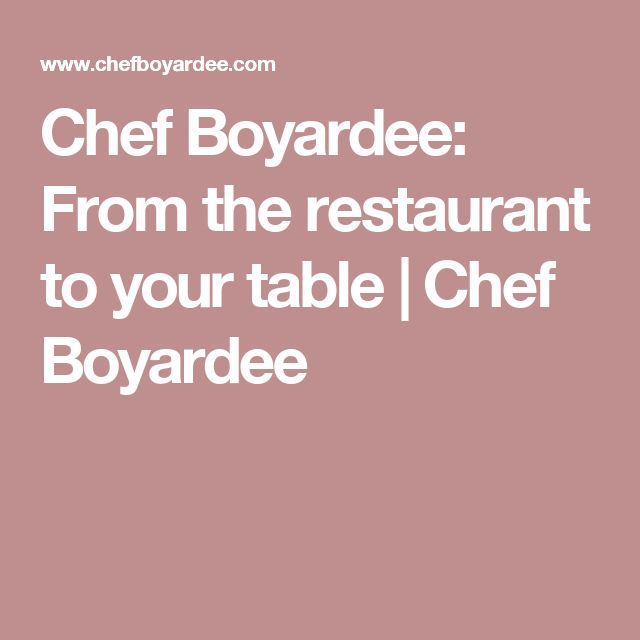 Chef Boyardee: From the restaurant to your table | Chef Boyardee