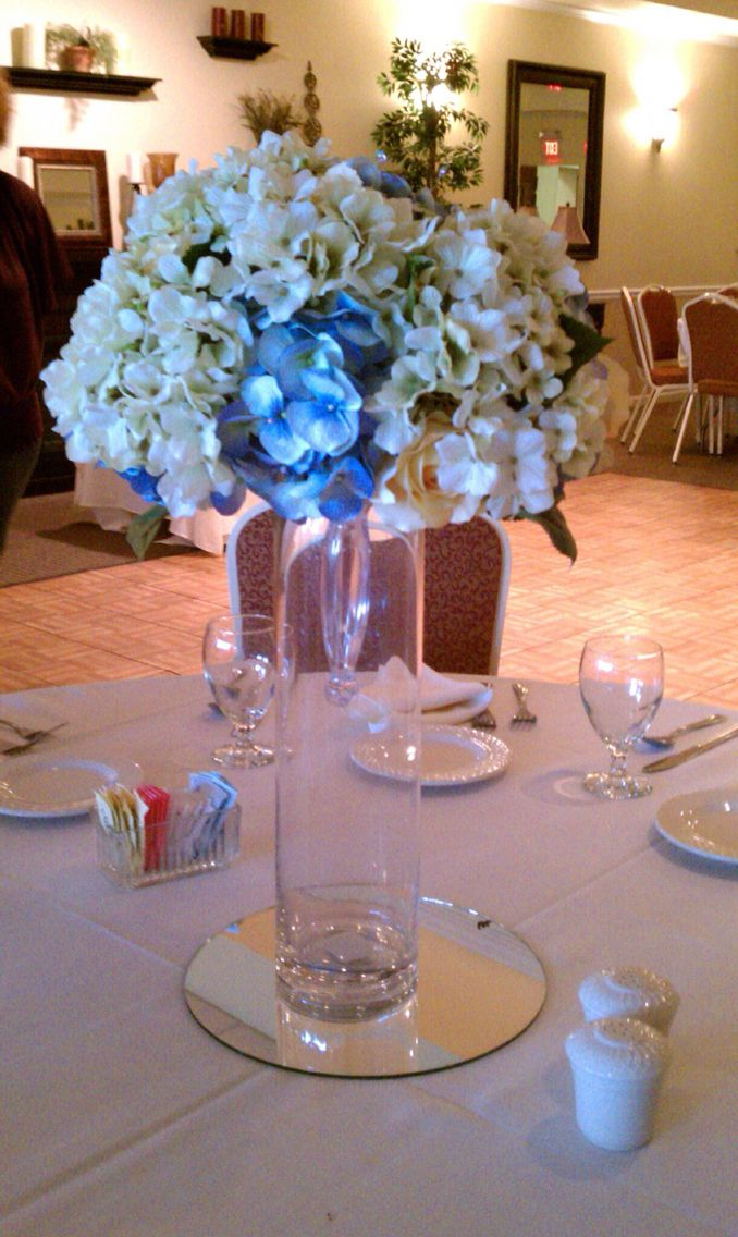 Centerpieces for an Anniversary Party