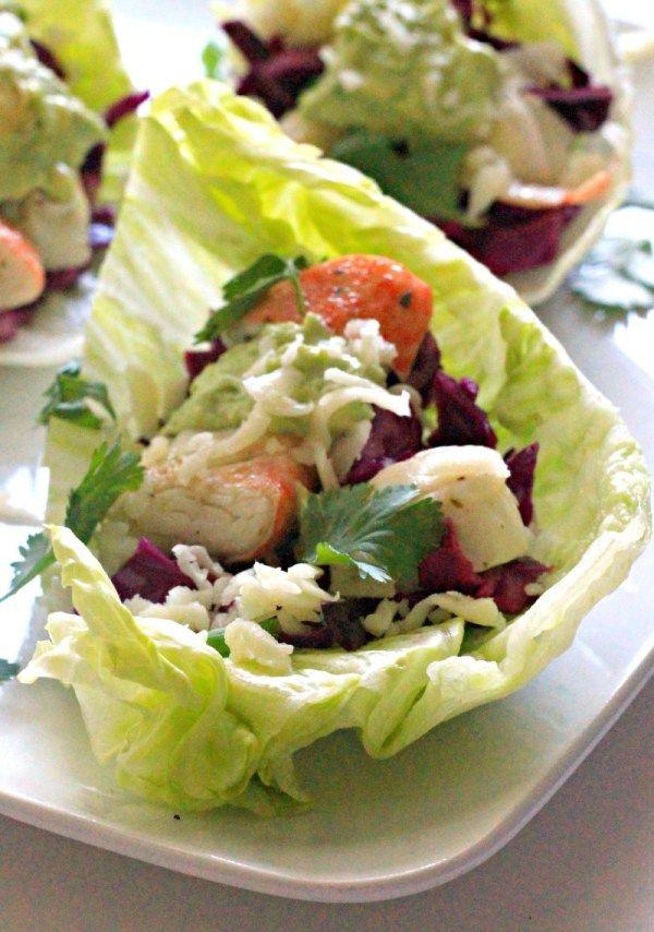 Lobster Tacos with Avocado Aioli #WeekdaySupper