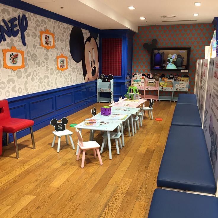 Kids Lounge at Lotte Department Store at Myeong-dong