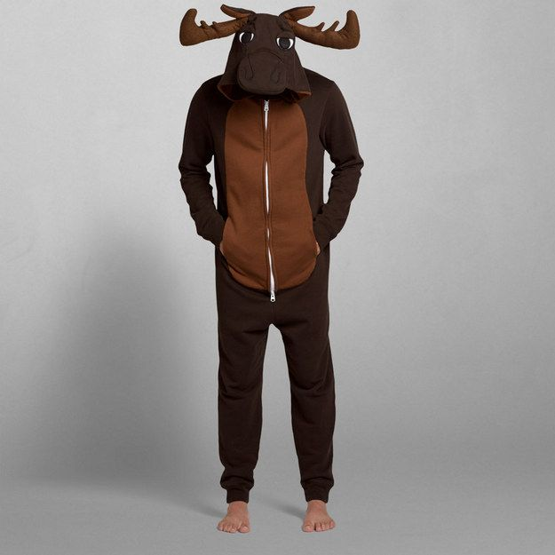 Moose Onesie | 33 Cozy Onesies That Are Better Than A Winter Boyfriend