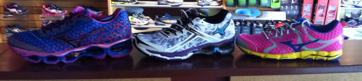New women's Wave Mizuno Prophecy, Creation and Hitogami just got in the store!