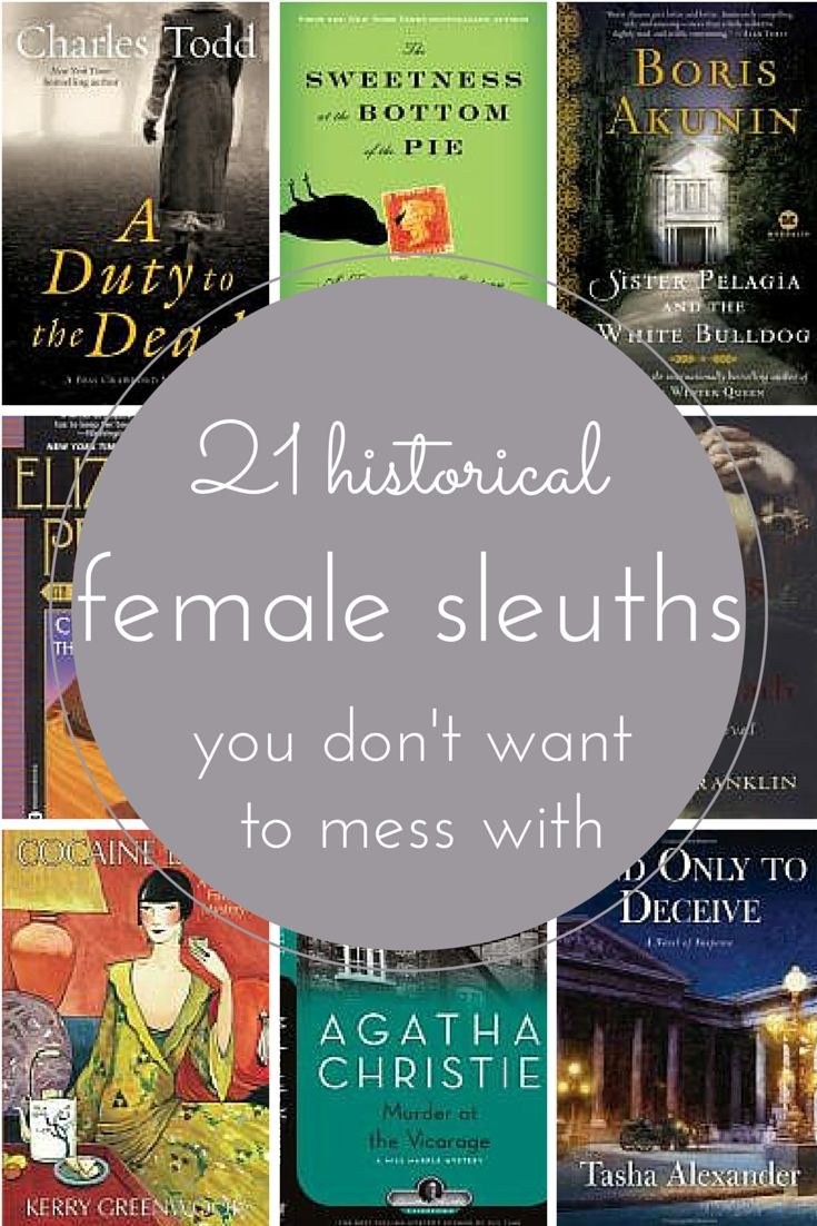 Looking for a new mystery series? Try one of these historical novels, which showcase strong female detectives.