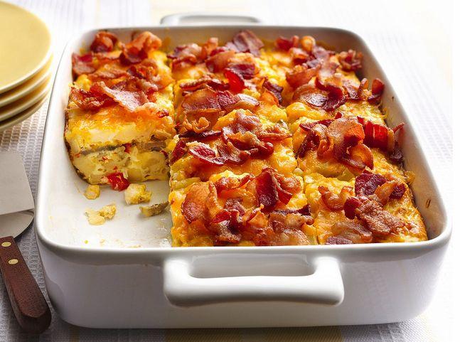 Bacon and Hash Brown Egg Bake Recipe