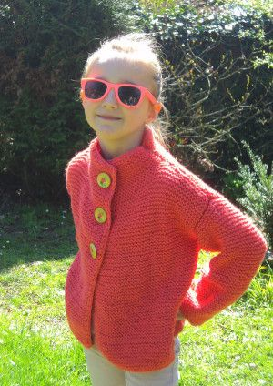 63 best images about tricot modeles gratuits free kniting patterns on pinterest knitted - Point tricot facile joli ...