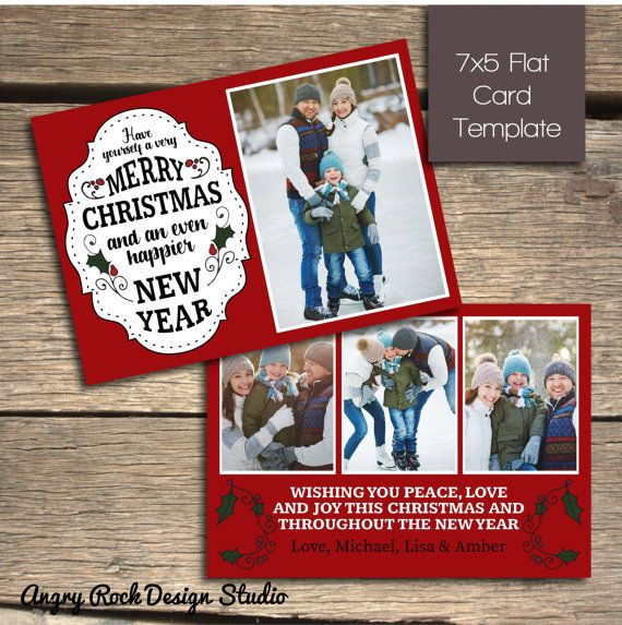 Best Christmas Card Templates Images On   Christmas
