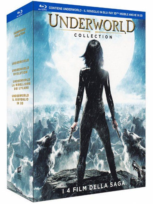 Underworld Collection  (3 Blu-Ray+ 1 Blu Ray 3D)