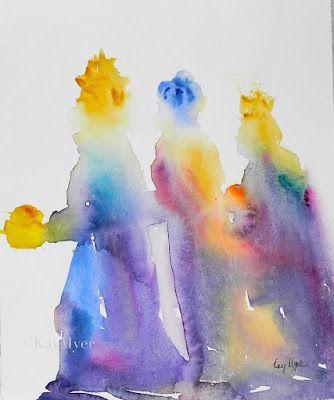 Kinder-Gedichte-Welt: Die heiligen Drei Könige