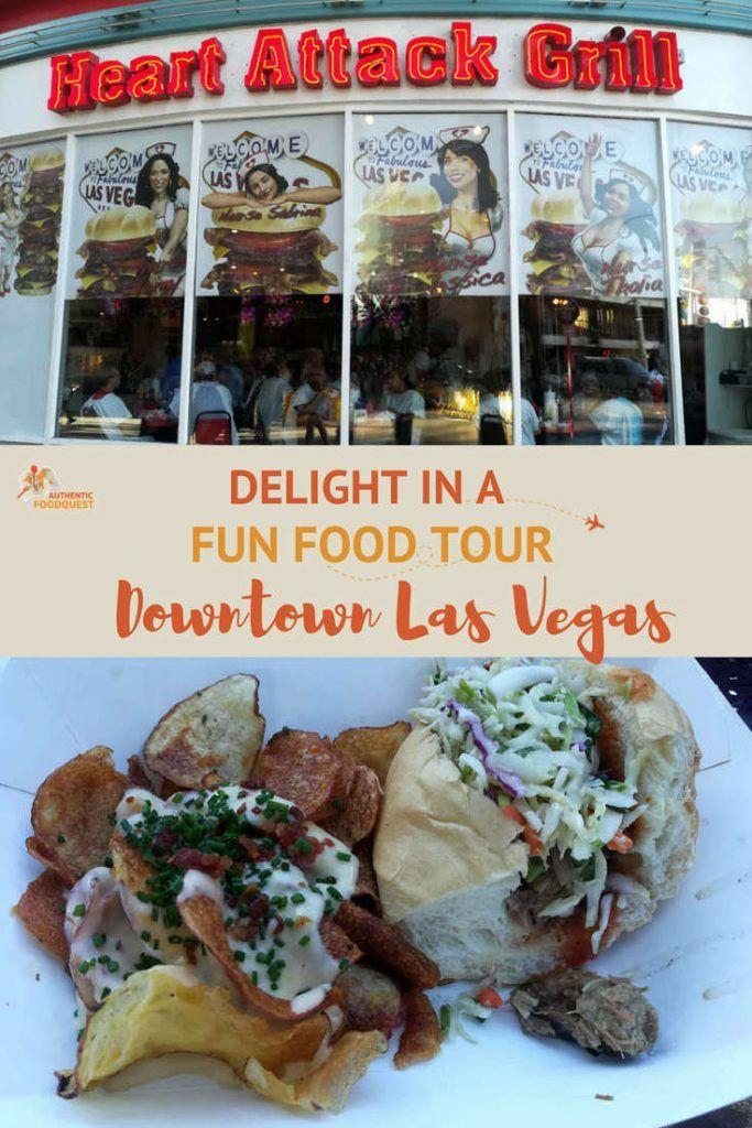 Looking To Explore Las Vegas In A Fun Way Take A Downtown Las Vegas Food Tour With Taste Buzz Food Tours Las Vegas To Delight I Vegas Food Las Vegas Food