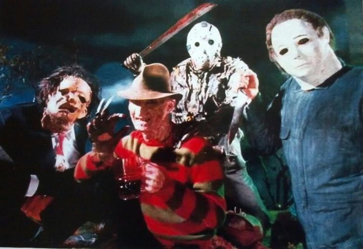 NIGHTMARE 4, FRIDAY VII, TEXAS CHAINSAW 2 and HALLOWEEN 4