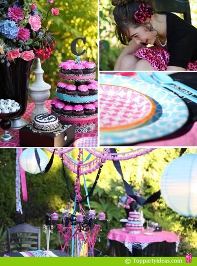 109 best images about 13th birthday party ideas on for 13th birthday party decoration ideas