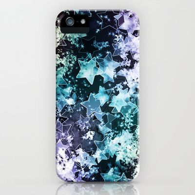 Abstract Star Dust iPhone & iPod Case by Sampsonknight - $35.00