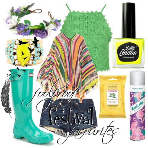 Get foolproof with us! It's mid-festival season, the sun is shining bright, and we're only but a day away from Friday.
