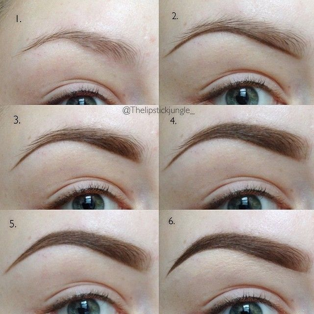 u201cEYEBROW TUTORIAL Hereu0026#39;s my highly requested eyebrow ...