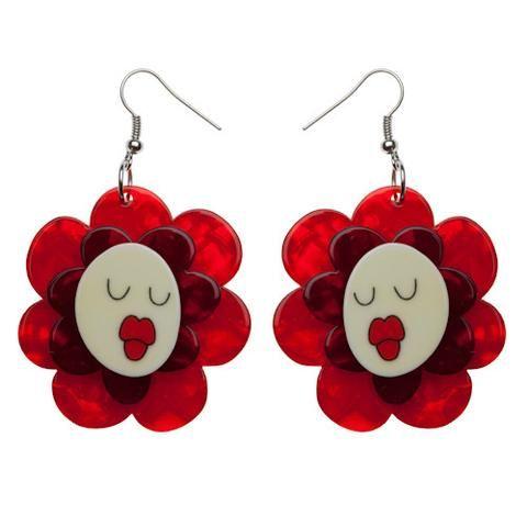 Helen's Humming Flowers Earrings