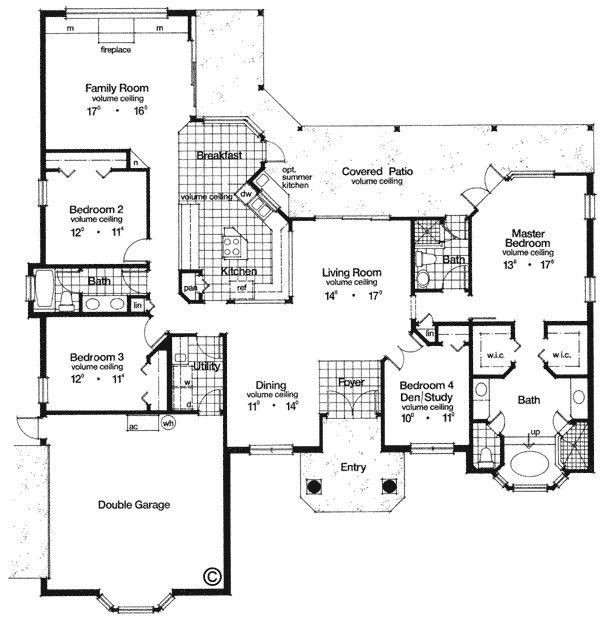 66 best house plans short list images on pinterest for Florida mediterranean house plans