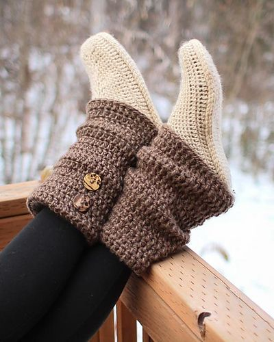 Ravelry: Audrey Boots pattern by Mamachee  $5.50