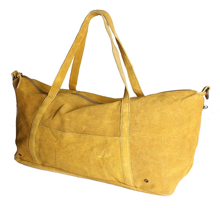 Mustard Suede Tote -   Rs. 799.00