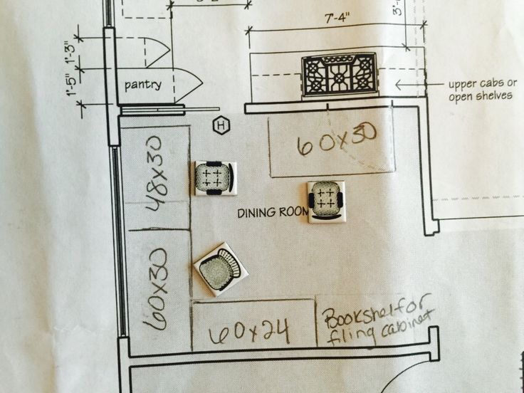 floor plan with room and board - Kchenbeleuchtung Layout
