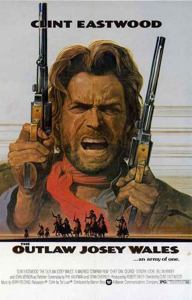 Clint Eastwood is an Army of One in the classic Western movie The Outlaw Josey Wales! A great poster for any fan. Ships fast. 11x17 inches. Need Poster Mounts..?