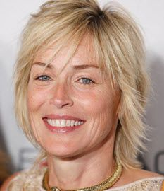 more natural and realistic  Sharon-Stone