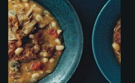 White Bean Soup with Duck Confit