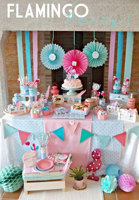 Flamingo Party para Niños