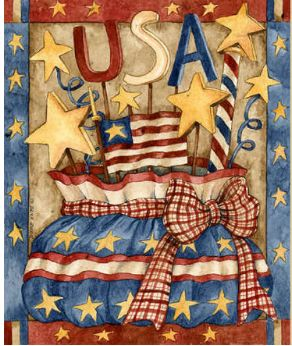USA - painting by Diane Knott
