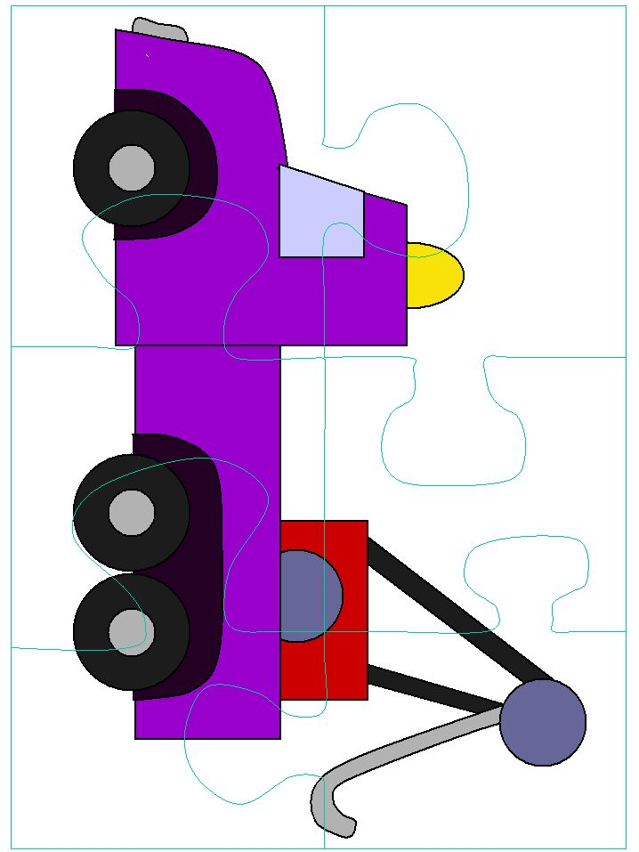 puzzle- Cut apart and use as reinforcement for articulation therapy- Re-Pinned by Speech Language Literacy Lab