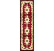 Red 8' x 8' Classic Aubusson Square Rug | Area Rugs | eSaleRugs