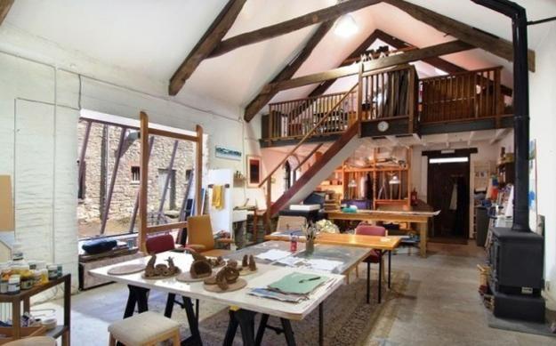 Small Art Studio Design Ideas | 22 Home Art Studio Ideas, Interior Design Reflecting Personality and ...