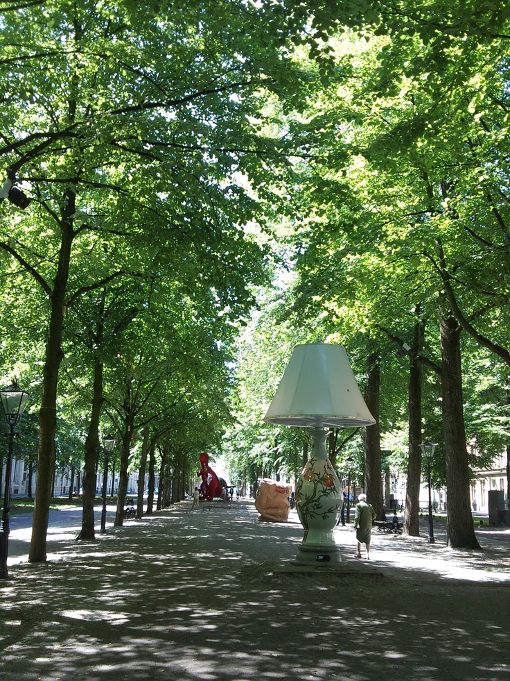 Lange Voorhout in Summer  l Art l Den Haag l The Hague l Dutch l The Netherlands