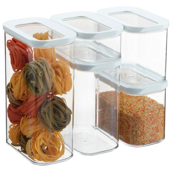 Modular Canisters For Organizing Pantry Organization Pinterest Canister Sets Pantry And