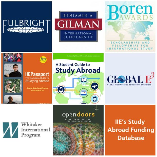 IIE Resources related to study abroad (IIE)
