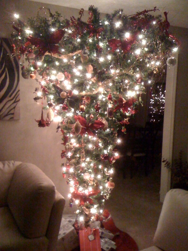 27 Best Upside Down Christmas Tree Images On Pinterest