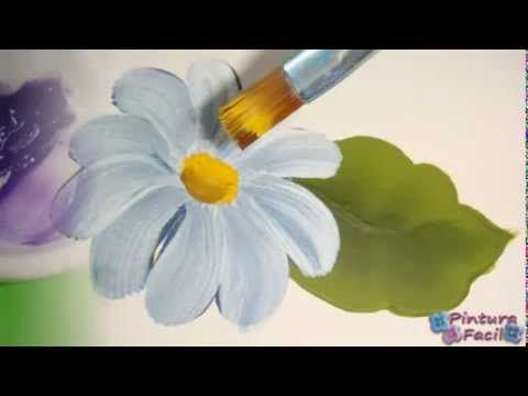 ▶ Pinturas Decorativas *One Stroke Painting* Pintura Facil Para Ti - YouTube