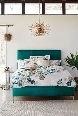 Turquoise headboard                                                                                                                                                                                 More