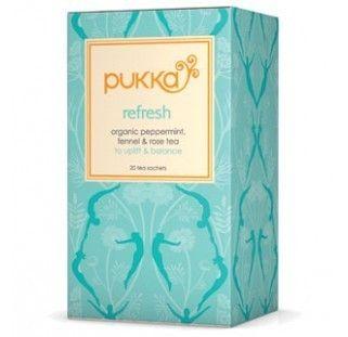 Pukka Herbs Refrefsh Tea. Organic & Delicious | My Natural Necessities