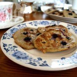 Bananen pancakes met maar twee ingrediënten: banaan en ei @ allrecipes.nl