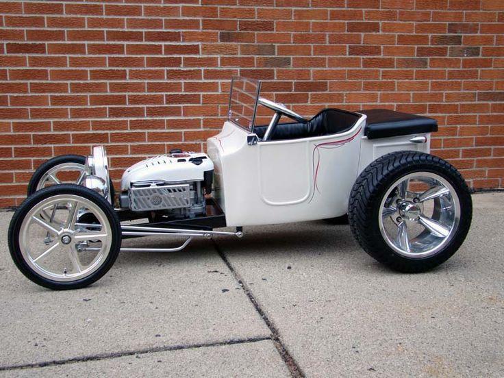 FA120 Bullet Polished Hot Rod Golf Cart Wheel - Vehicle Image Gallery