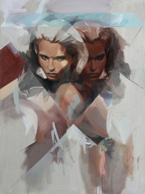 Paintings by artist Rico Blanco Looks a little bit like Jace