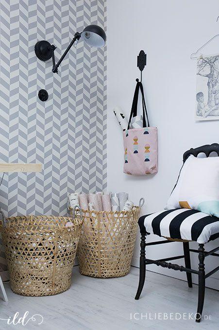 Wohnen und dekorieren im skandinavischen Stil mit Pastelltönen | Deko | Dekoliebe | Einrichten | Living