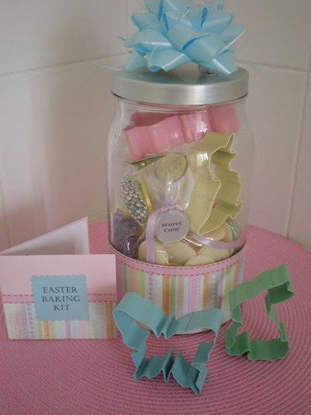 81 best easter spring valentine or st patricks day cookie jars easter baking kit or add playdoh and its a great gift for a toddler negle Choice Image