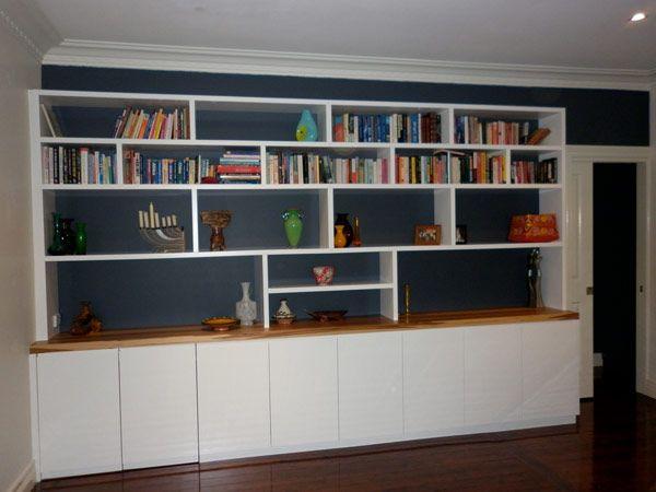 Random shelves and cupboards below