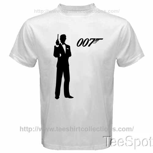 James Bond Skyfall M16 Agent 007 Silhouette Film L
