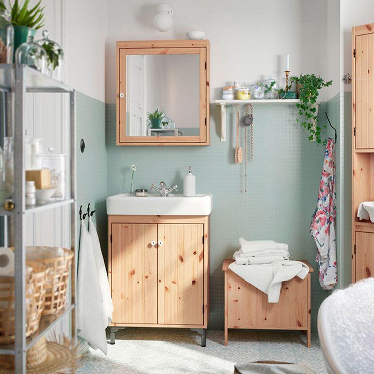 Un ambiente lleno de colores relajantes, ¿te gustaría un baño así? #easytienda #tiendaeasy #Remodelaciones2016 #Remodelaciones #YoAmoMiCasaRenovada #Easy