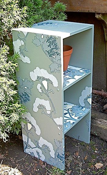 Revive tired garden furniture with decoupage - Canadian Gardening