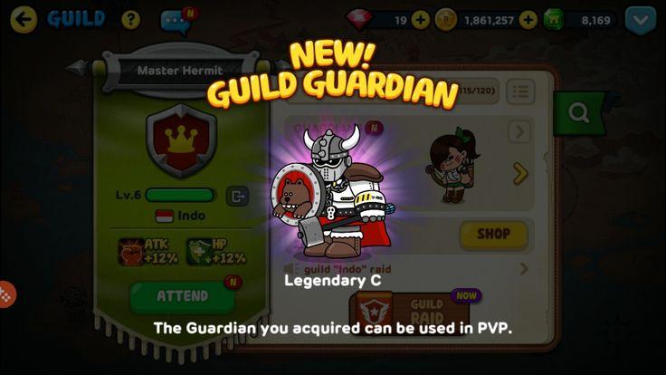 New Guild Guardian Success! Unlocked! #linerangers #legendaryC #success #new #guildguardian #pvp