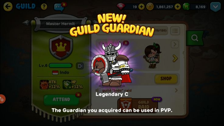 New Guild Guardian Success! Unlocked! #linerangers #legendaryC #success #new #guildguardian #pvp