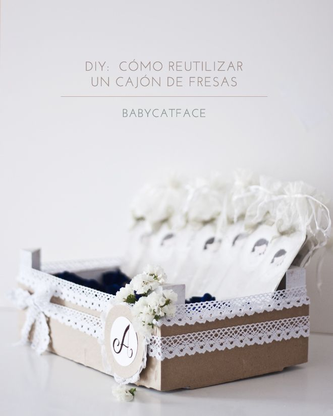 DIY: CÓMO REUTILIZAR UN CAJÓN DE FRESAS | Handbox Craft Lovers | Comunidad DIY, Tutoriales DIY, Kits DIY